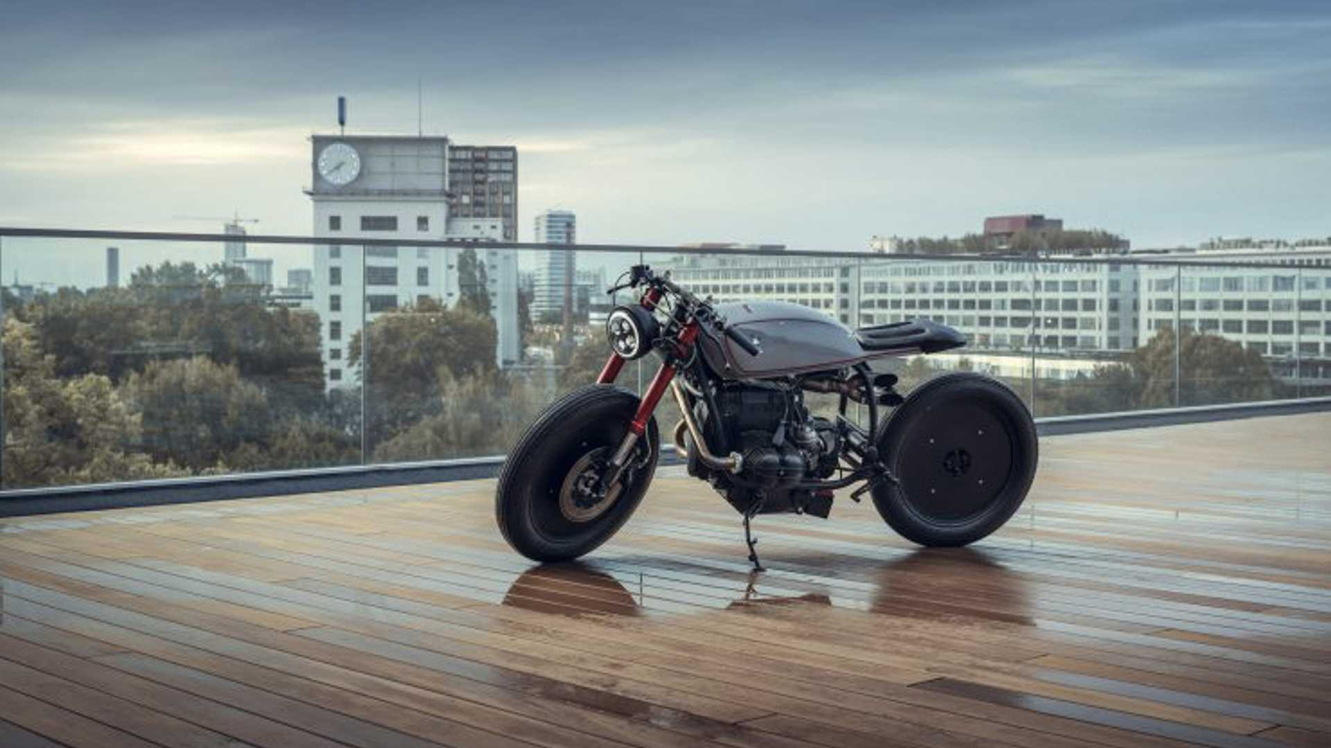 This Converted BMW R80 RT Is Café Racer Heaven