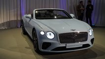 2019 Bentley Continental GT Convertible Unveiled: 207 MPH Luxury Droptop