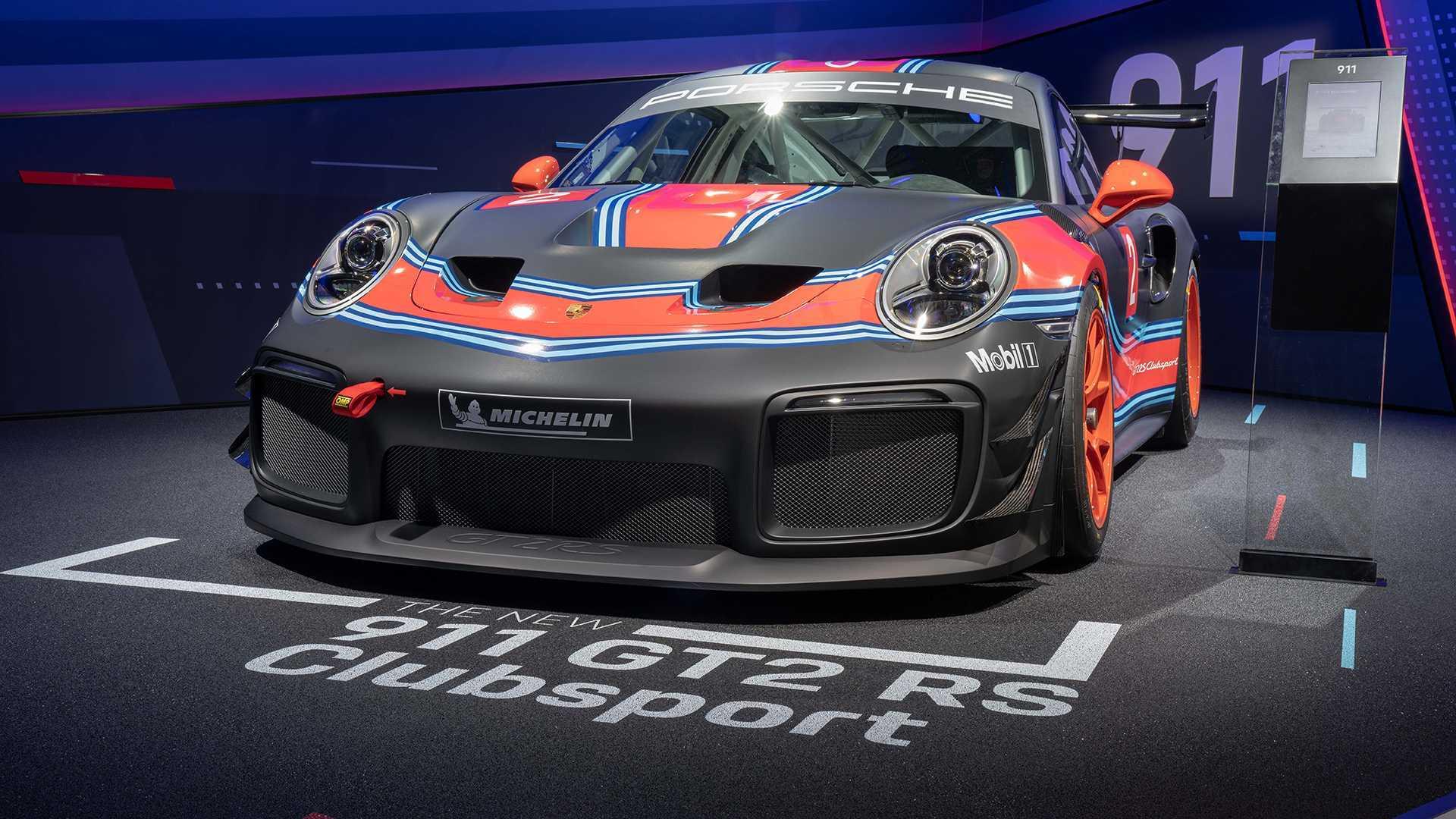 Porsche 911 GT2 RS Clubsport Makes Surprise Appearance In LA
