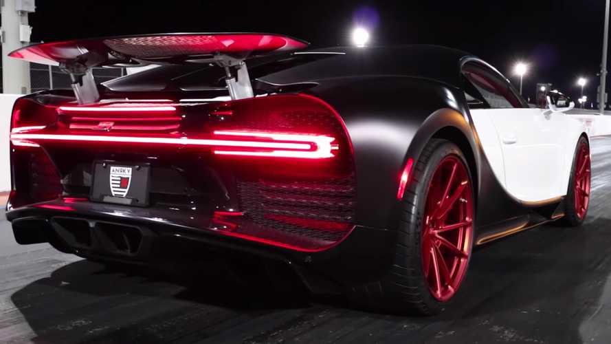 Watch Bugatti Chiron do quarter mile in 9.9 seconds