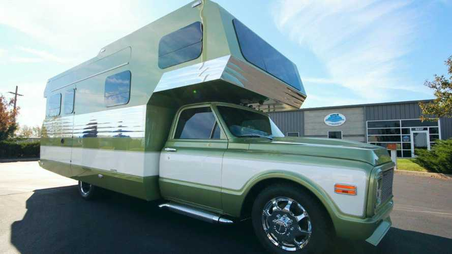 Everyone Missed This Amazing Retro RV At SEMA