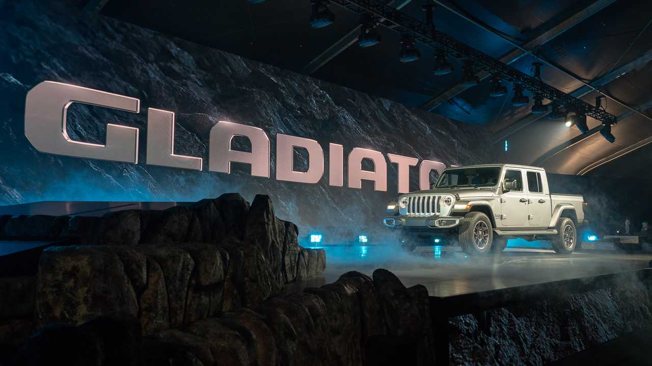 Jeep Gladiator 2020 - Salão de Los Angeles
