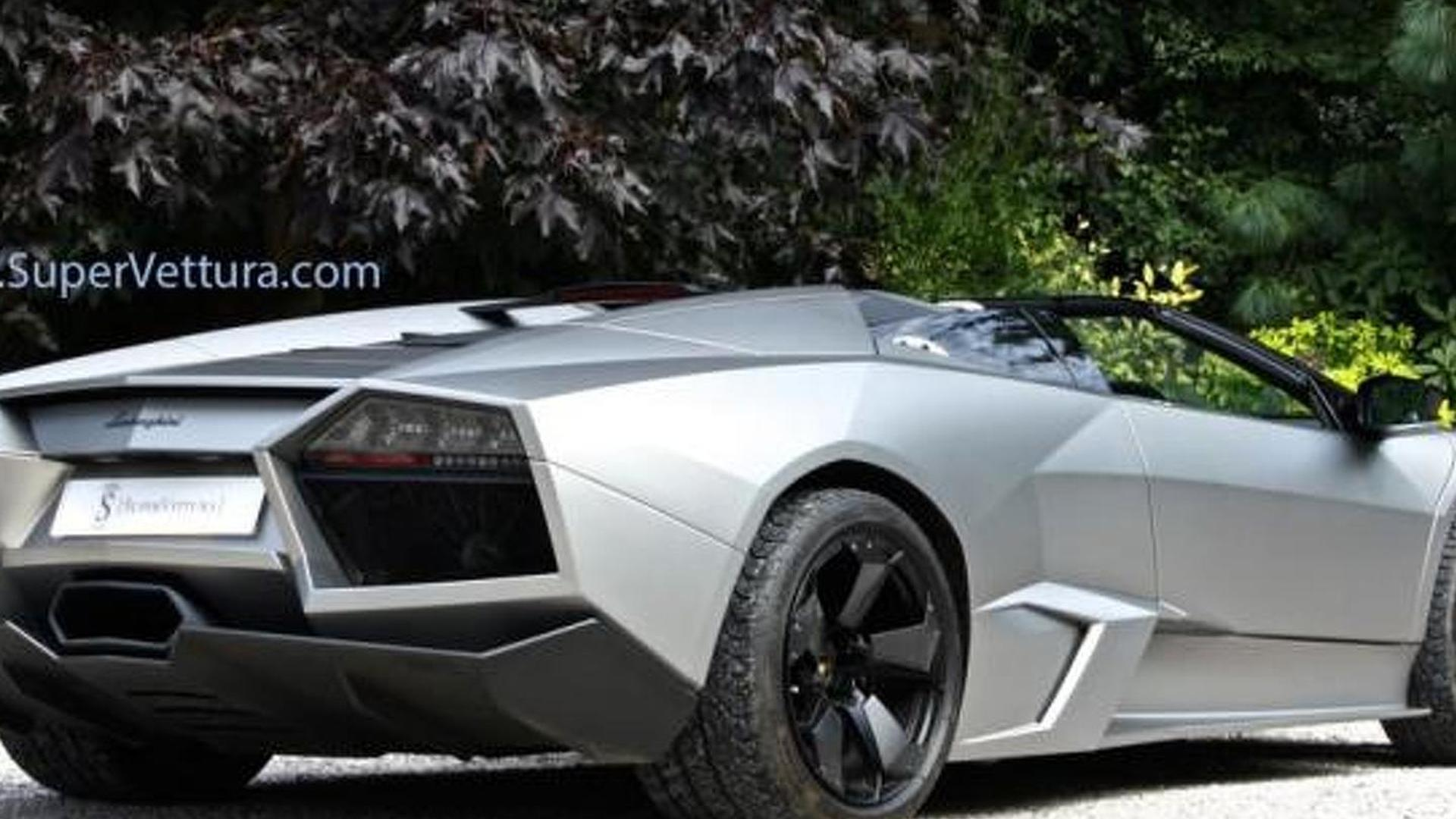 Barely Driven Lamborghini Reventon Roadster On Sale For 1 1m Gbp