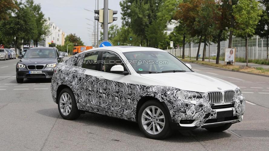 2014 BMW X4 spied testing in Munich