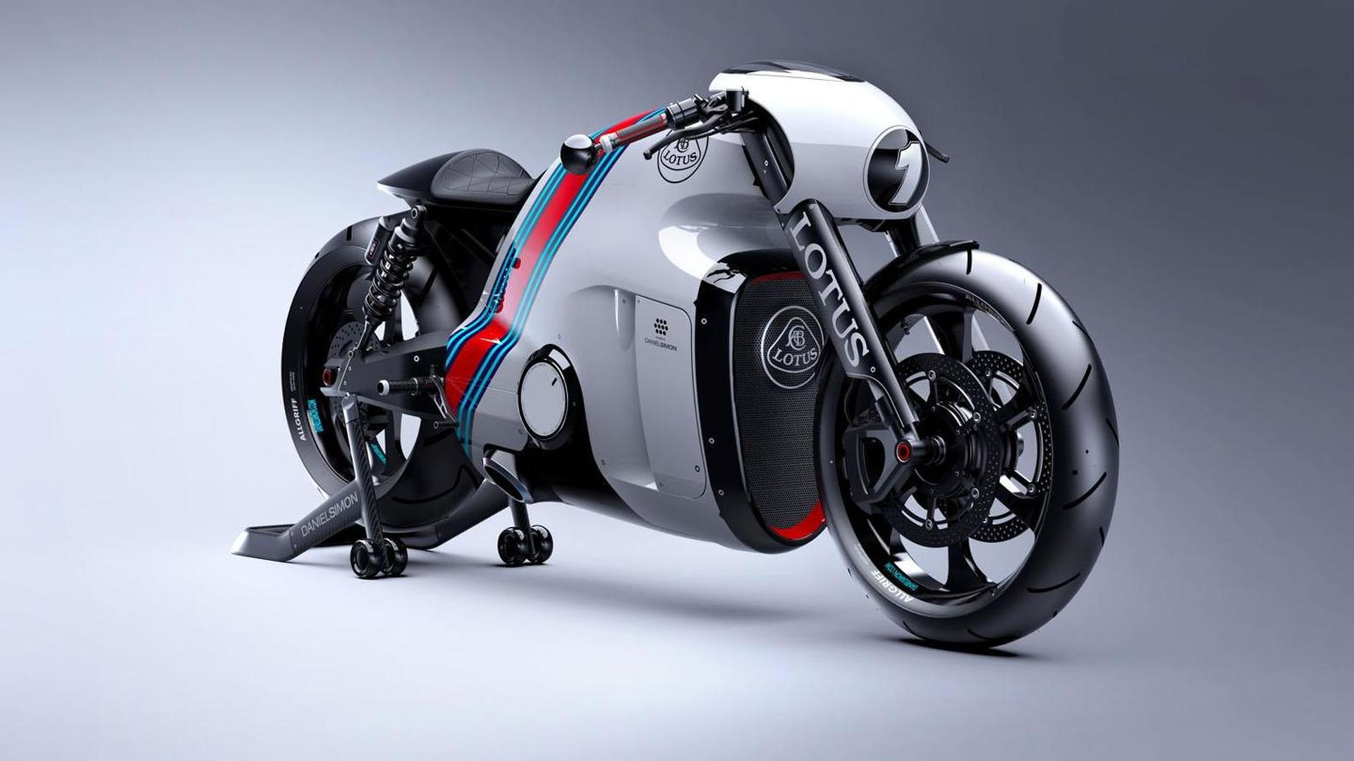 Lotus C-01 motorcycle unveiled by Kodewa