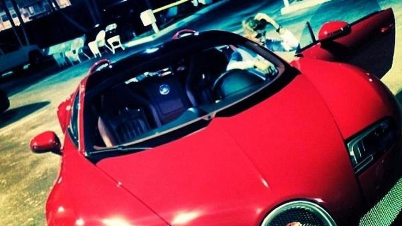 Justin bieber bugatti veyron
