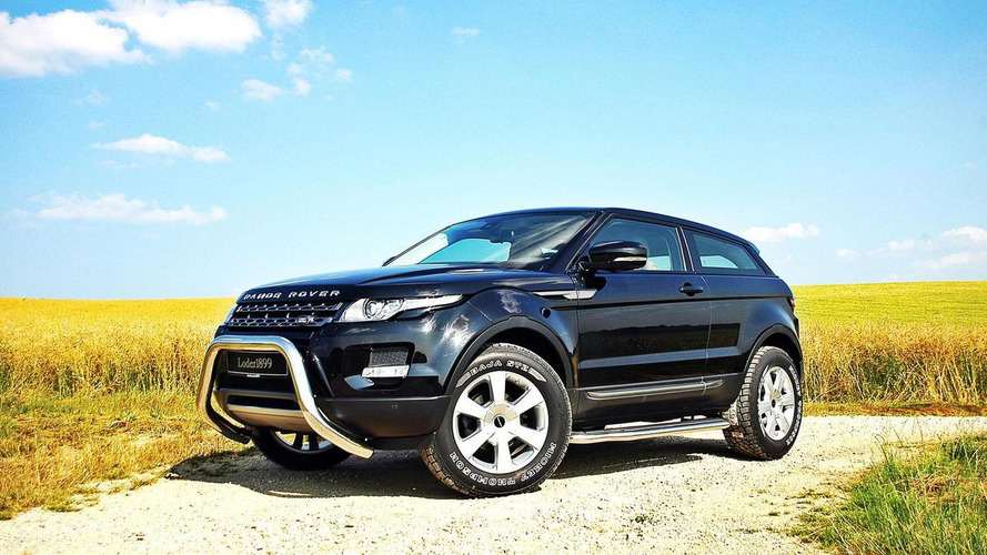 Loder1899 tunes the Range Rover Evoque