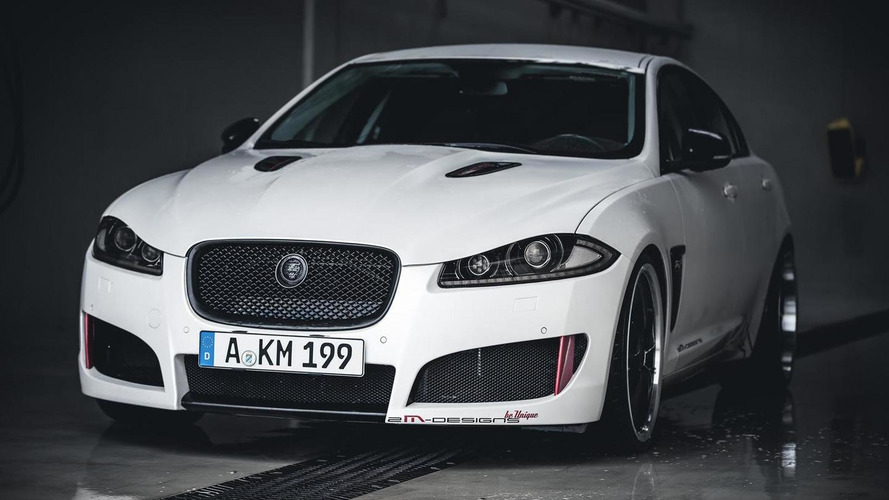 Jaguar XF receives power kit and complete makeover from 2M-DESIGNS