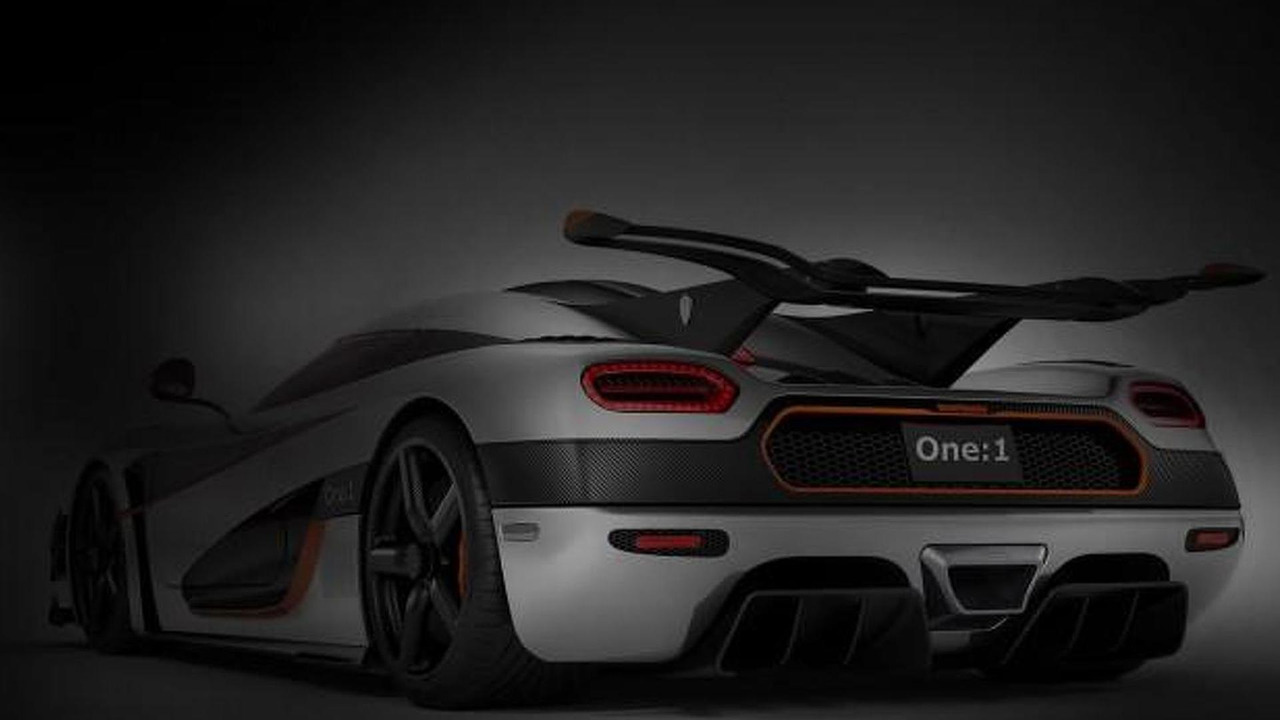 Koenigsegg One:1 teaser