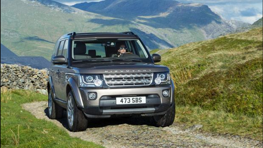 Land Rover Discovery MY 2015, più ricca dentro