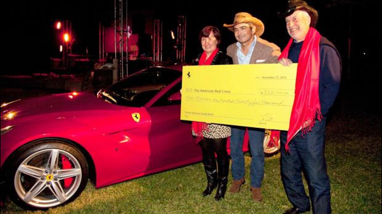 [Copertina] - Ferrari: la prima F12berlinetta per gli USA venduta a 1,125 mln di dollari