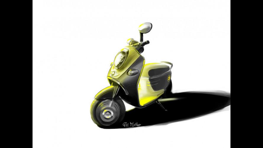 In arrivo lo scooter elettrico MINI