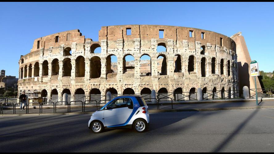 Il car sharing penalizzarà le case auto
