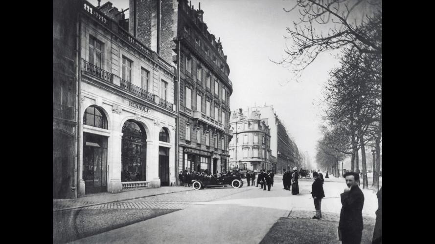 """Renault,""""100 ans sur les Champs-Elysées"""""""