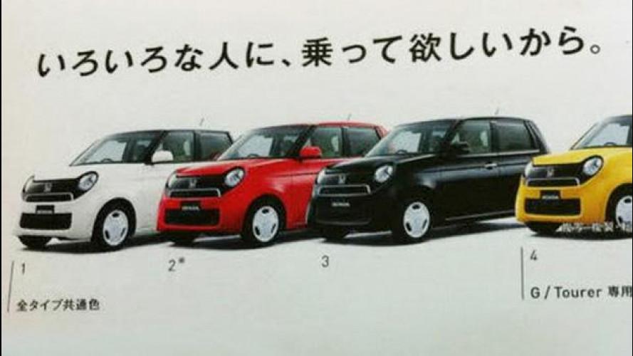 Honda N-One: la rivale della Fiat 500 è vicina alla produzione