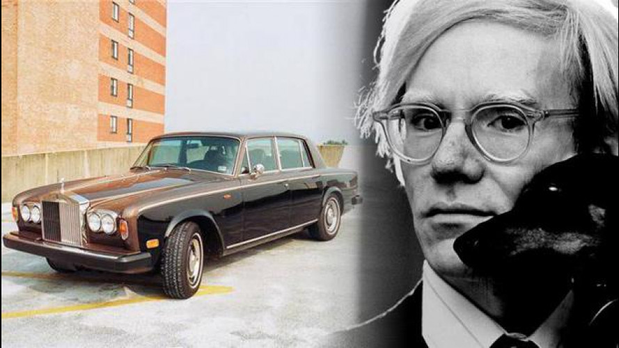 La Rolls di Andy Warhol all'asta su eBay