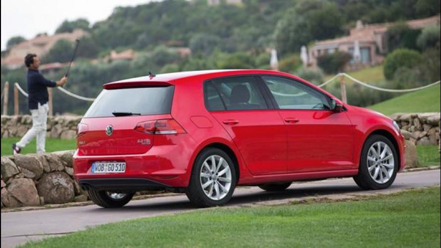 Nuova Volkswagen Golf: prezzi da 17.800 euro