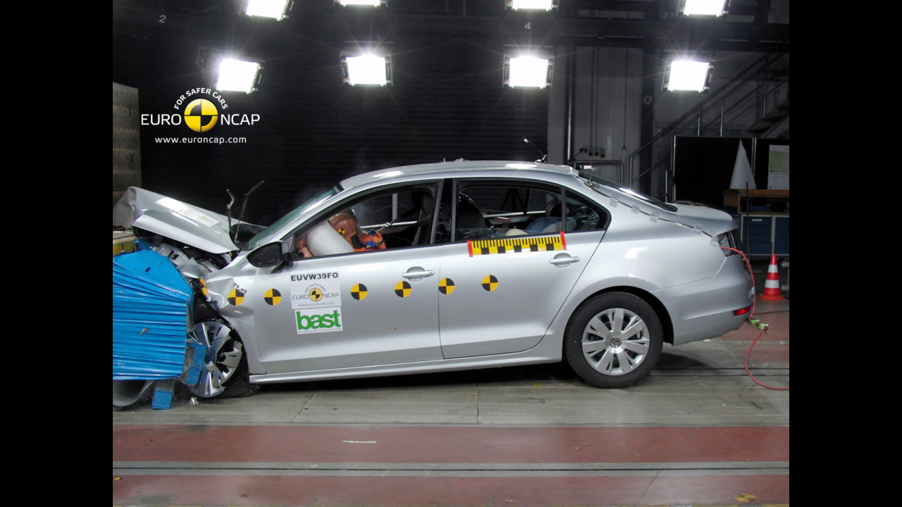 Crash Test Volkswagen Jetta