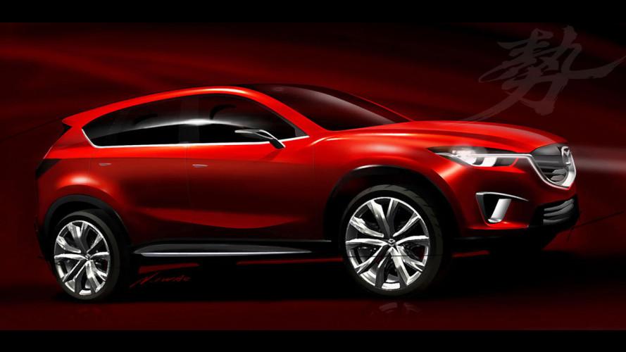 Mazda MINAGI Concept, le prime immagini