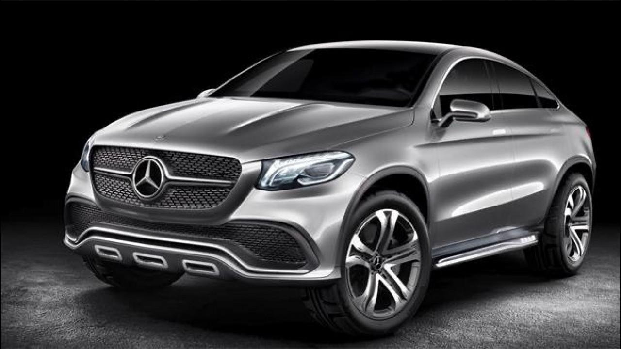 [Copertina] - Mercedes Coupé SUV,  l'offroad sportivo della Stella