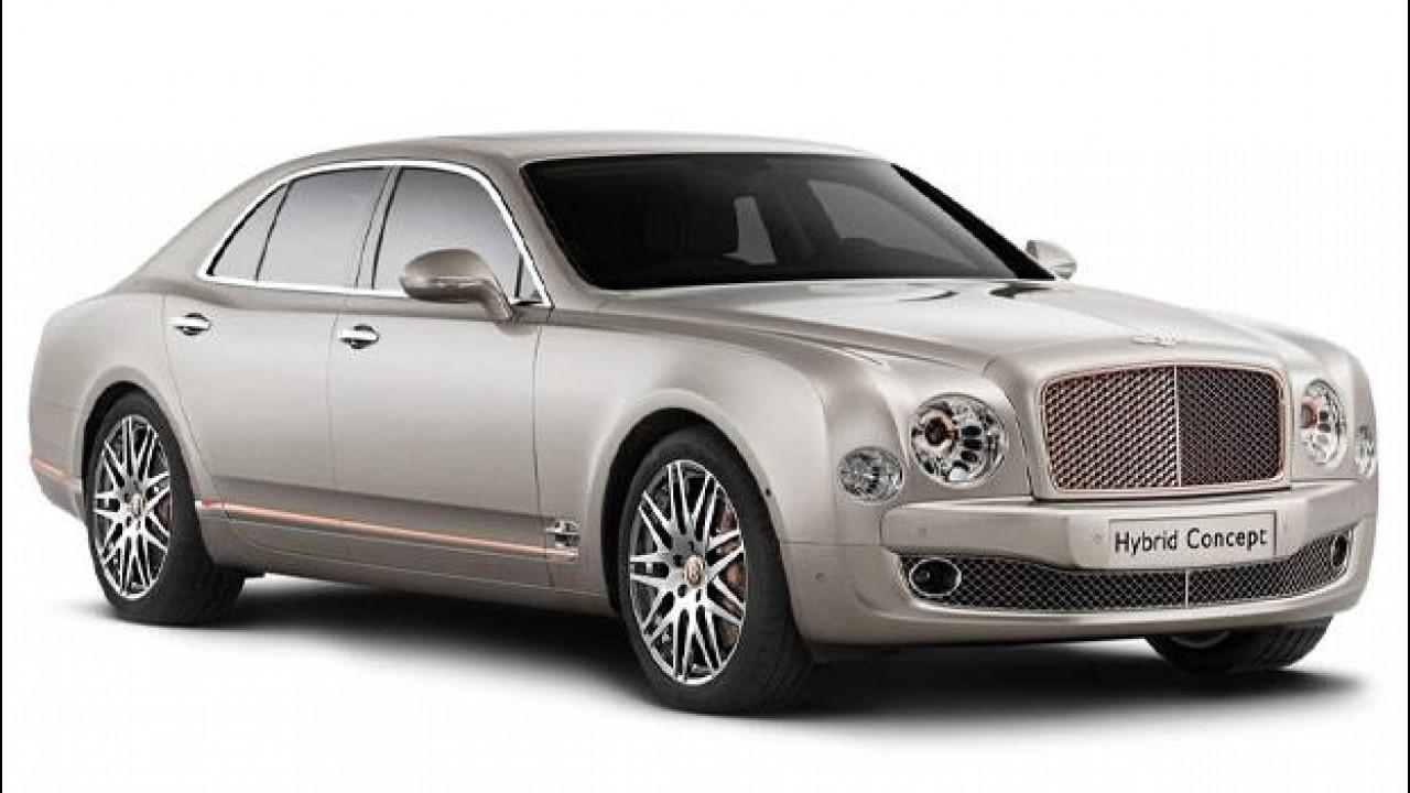 """[Copertina] - Bentley Hybrid Concept, ai """"ricchi"""" piace il rame"""
