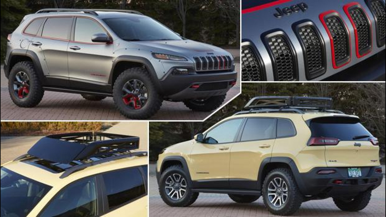 [Copertina] - Jeep Cherokee si fa in due per l'Easter Jeep Safari