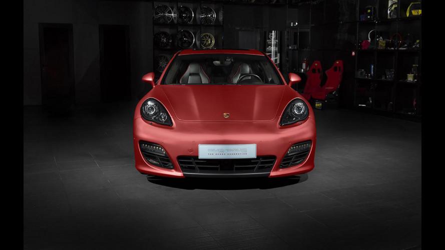 Porsche Panamera Turbo, Overdrive la tinge di rosso