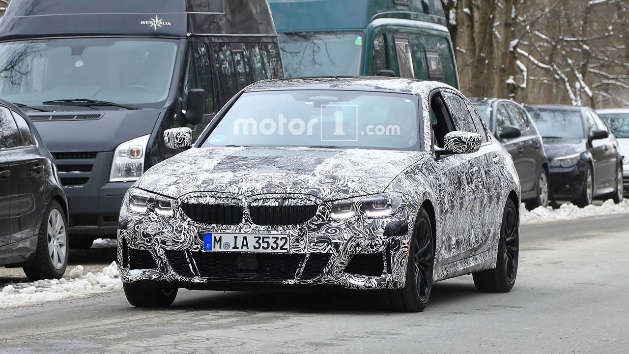 2019 BMW 3 Series Spy Photo