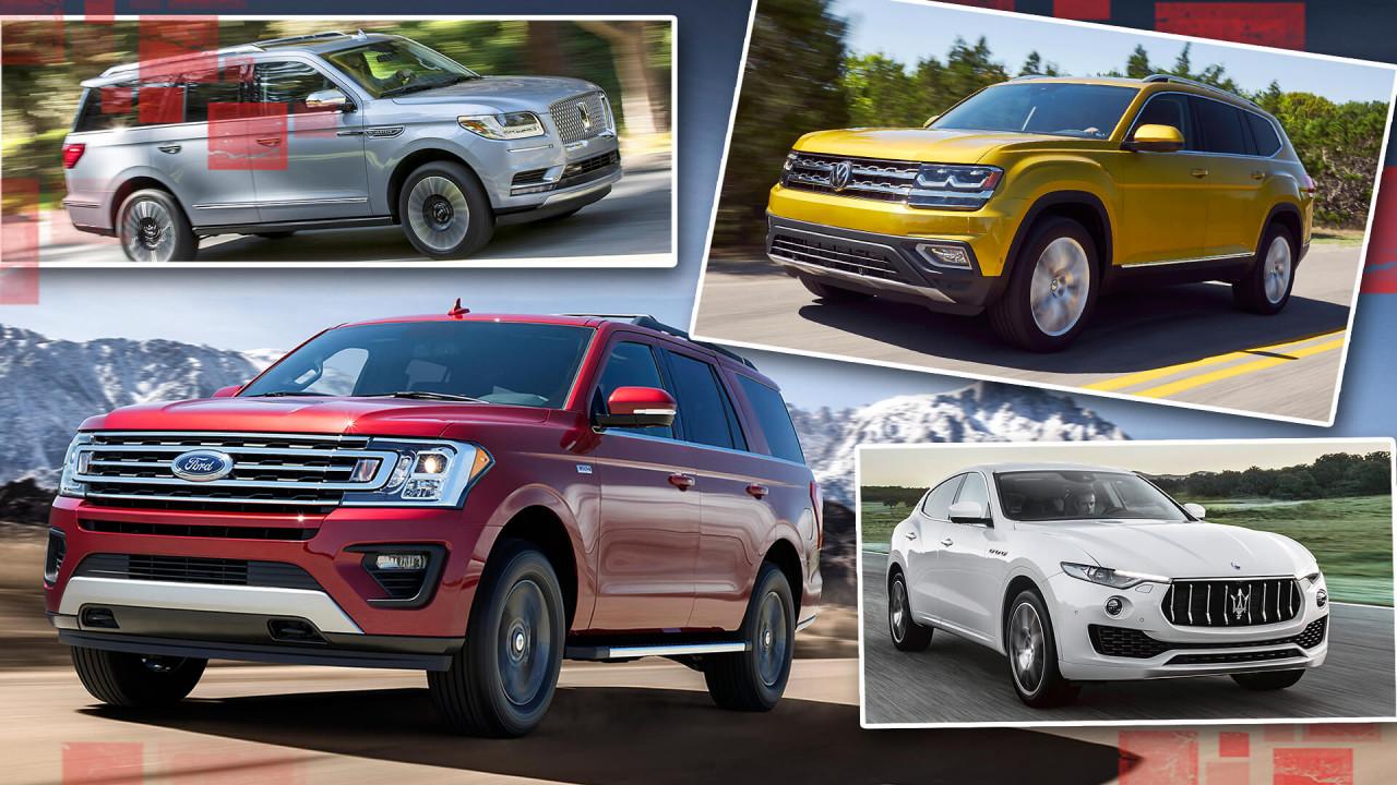 Die fettesten SUVs der Welt im Überblick