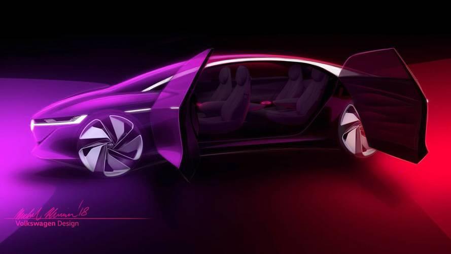 Tesla Model S-rivális lehet a Volkswagen ID Vizzion tanulmánya