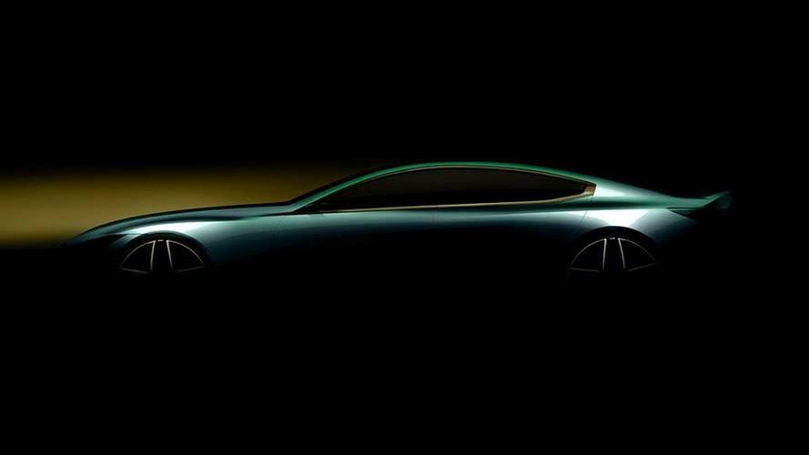 BMW teaser ginevra