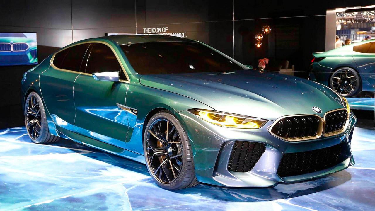 Flop (Stefan Wagner): BMW Concept M8 Gran Coupé