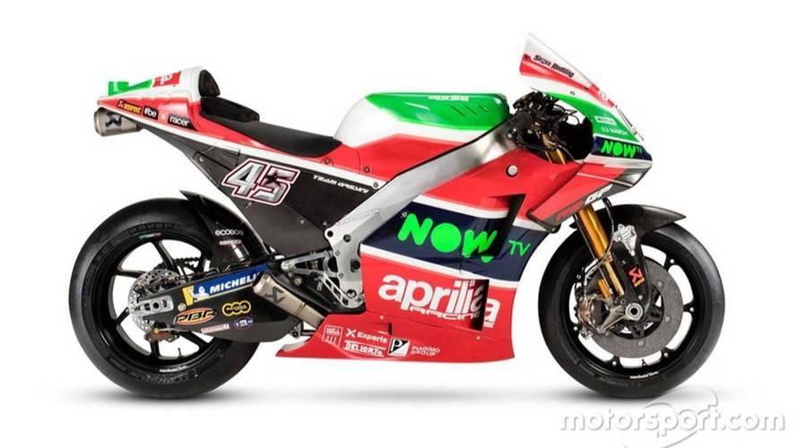 Así es la nueva Aprilia de MotoGP para 2018