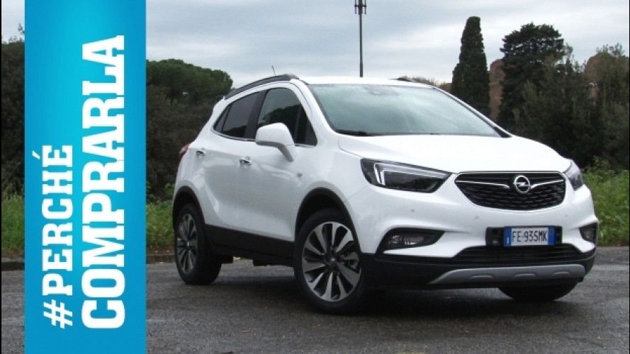 Opel Mokka X, perché comprarla… e perché no [VIDEO]