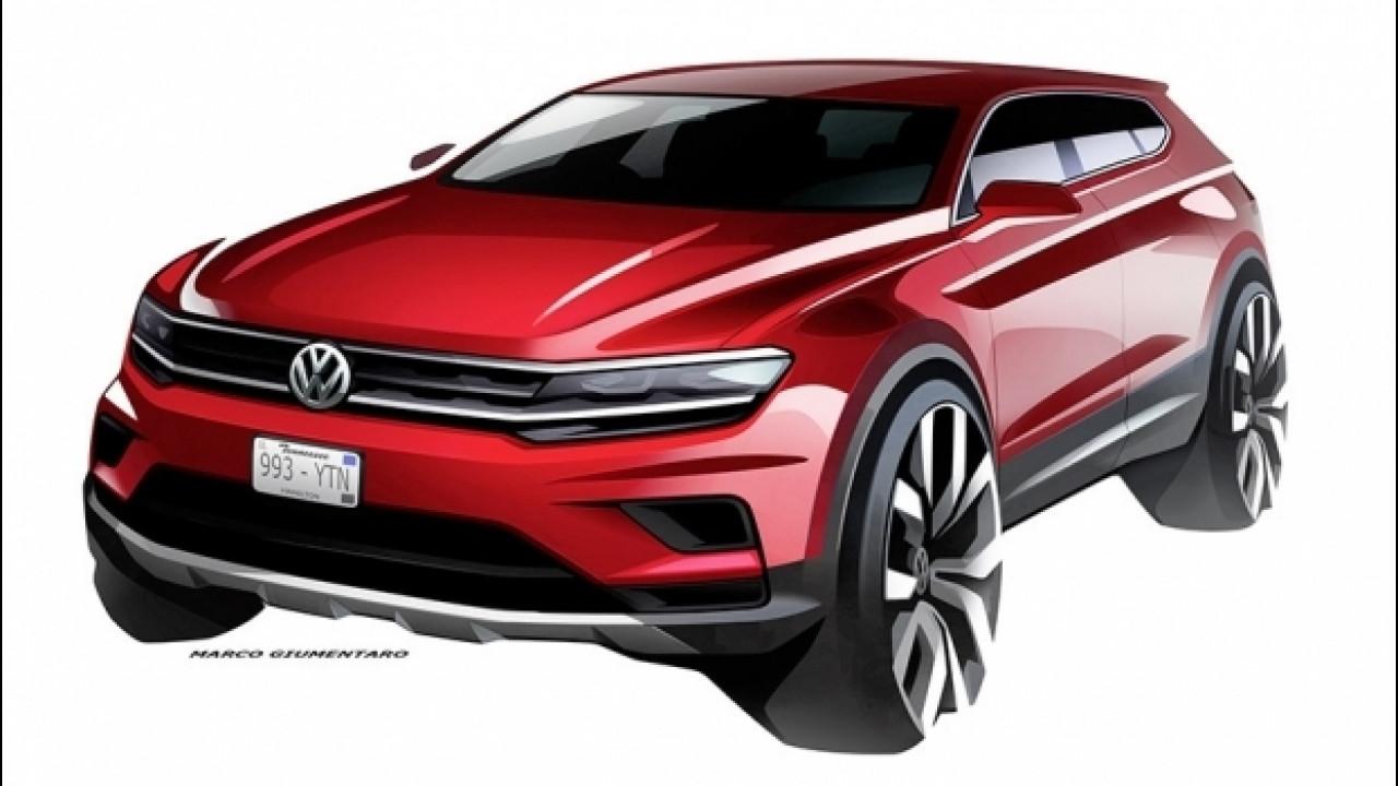 [Copertina] - Volkswagen Tiguan Allspace, a Detroit la 7 posti