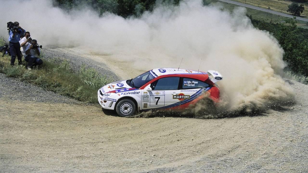 Colin McRae WRC Ford Focus'u Açık Artırmaya Sunuluyor