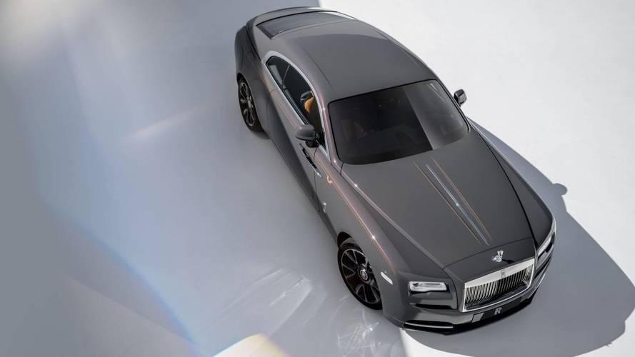 "Világító fabetéttel ""vakít"" a Rolls-Royce Wraith Luminary Collection"