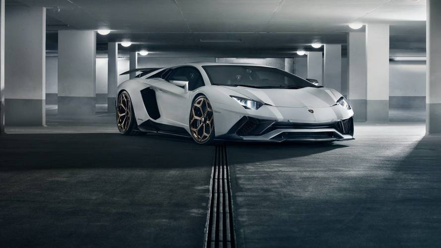 Lamborghini Aventador S'e Novitec modifiyesi