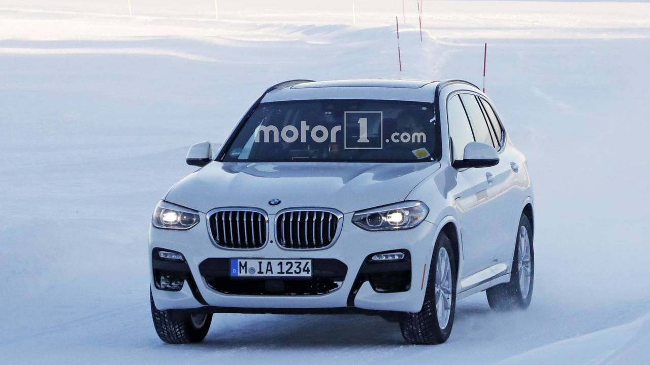 2019 BMW X3 Plug In Hybrid Spy Photo