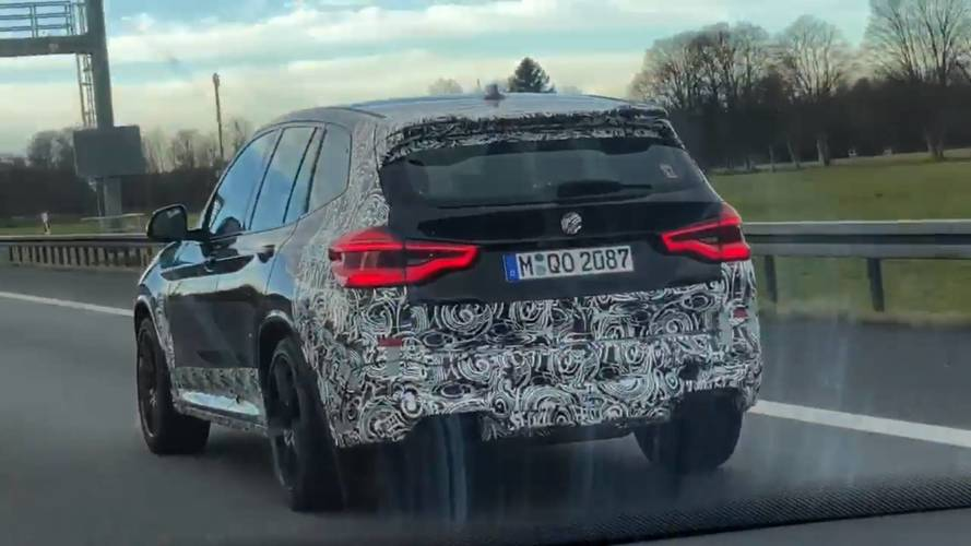 VIDÉO - Le BMW X3 M rode déjà !