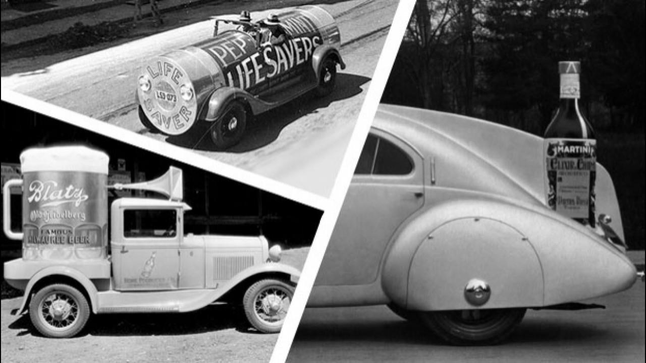 [Copertina] - Le auto più strane (di ieri) create per fare pubblicità