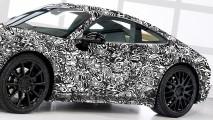 Nuova Porsche 911, prime foto del muletto