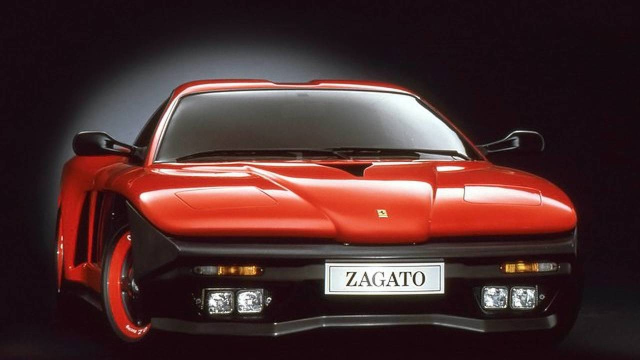 5. 1993 Ferrari F.Z. 93 konsepti