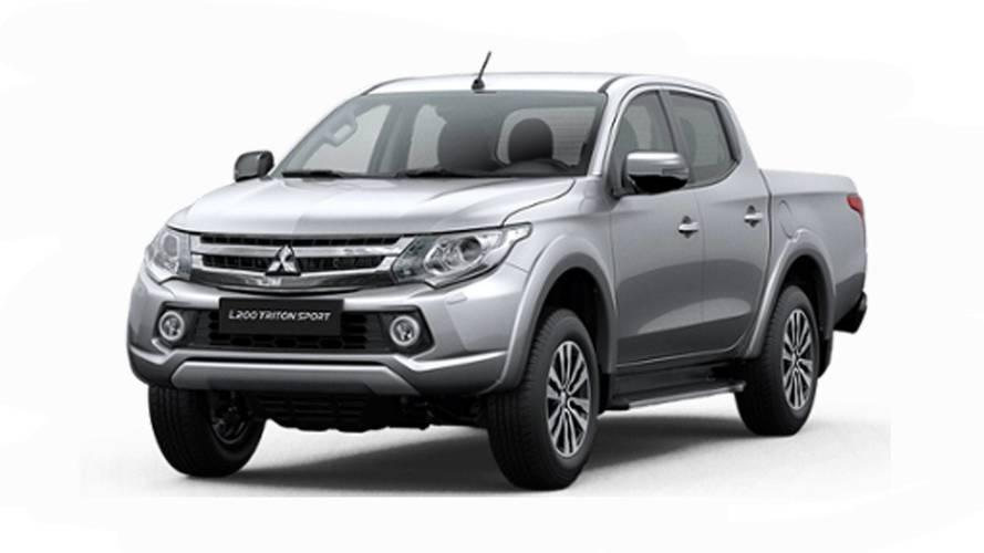 Mitsubishi L200 Triton Sport HPE-S aparece no site