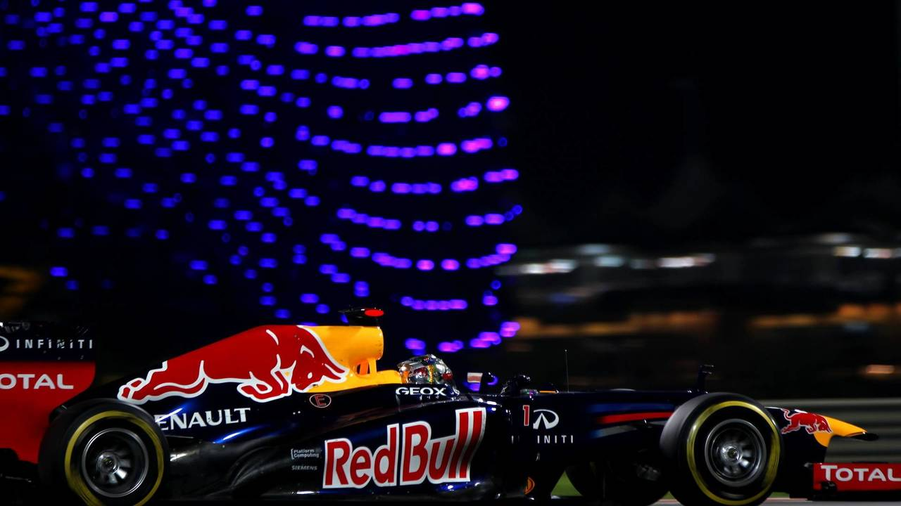 31. El Red Bull Racing RB8 de F1