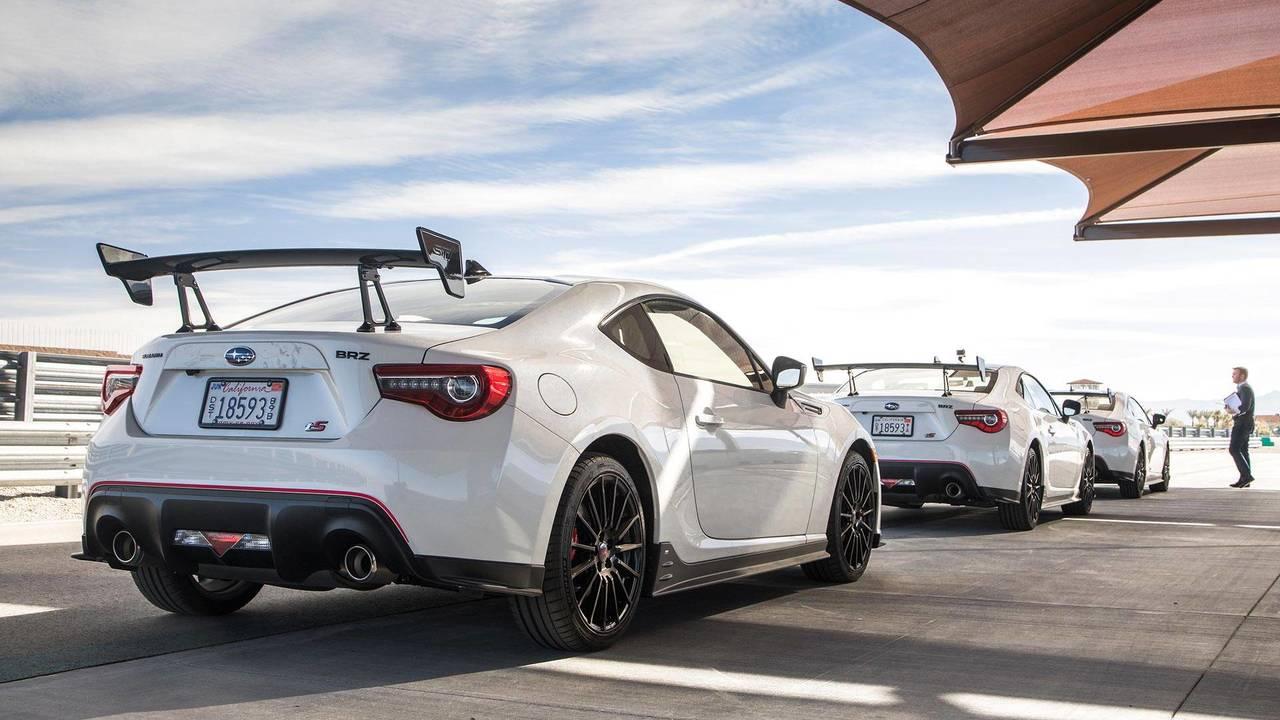 2018 Subaru BRZ tS   Motor1.com Photos