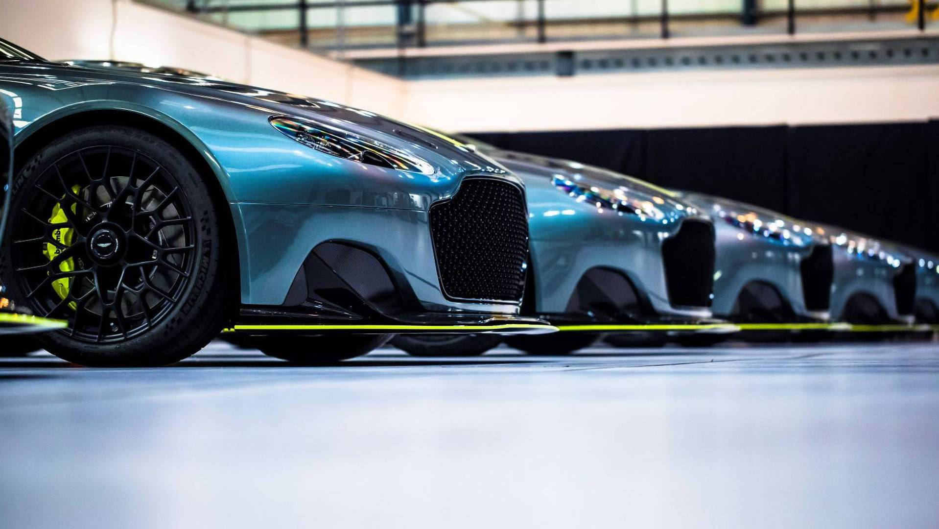 These Seven Unique Vantage Amr Pros Are Aston Martin Paradise