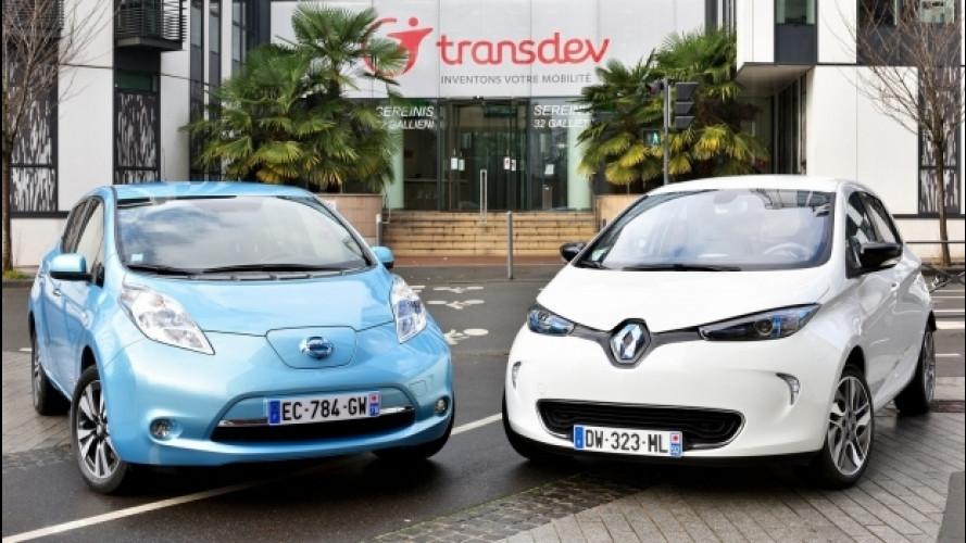Guida autonoma, Renault-Nissan si allea con Transdev