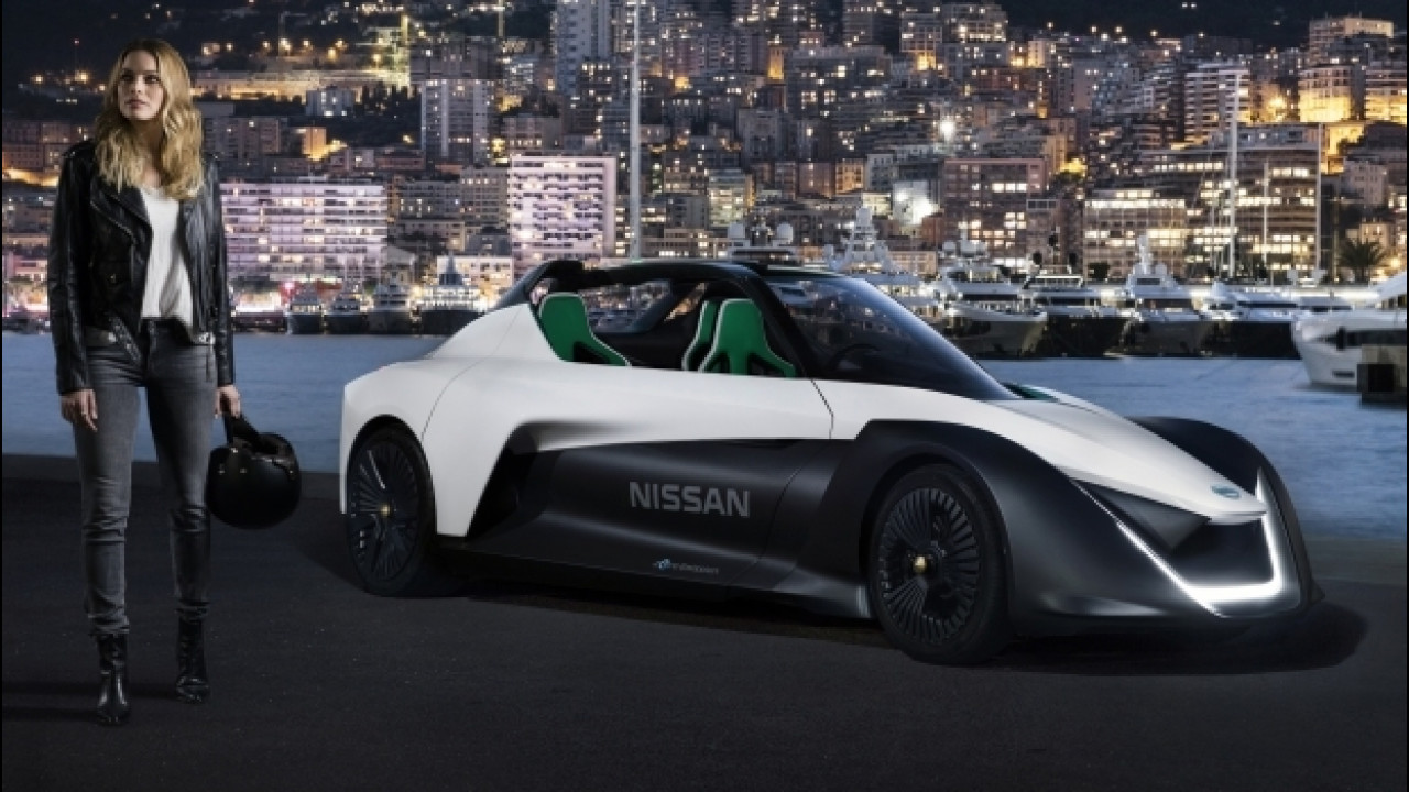 [Copertina] - Margot Robbie è il nuovo volto delle Nissan elettriche