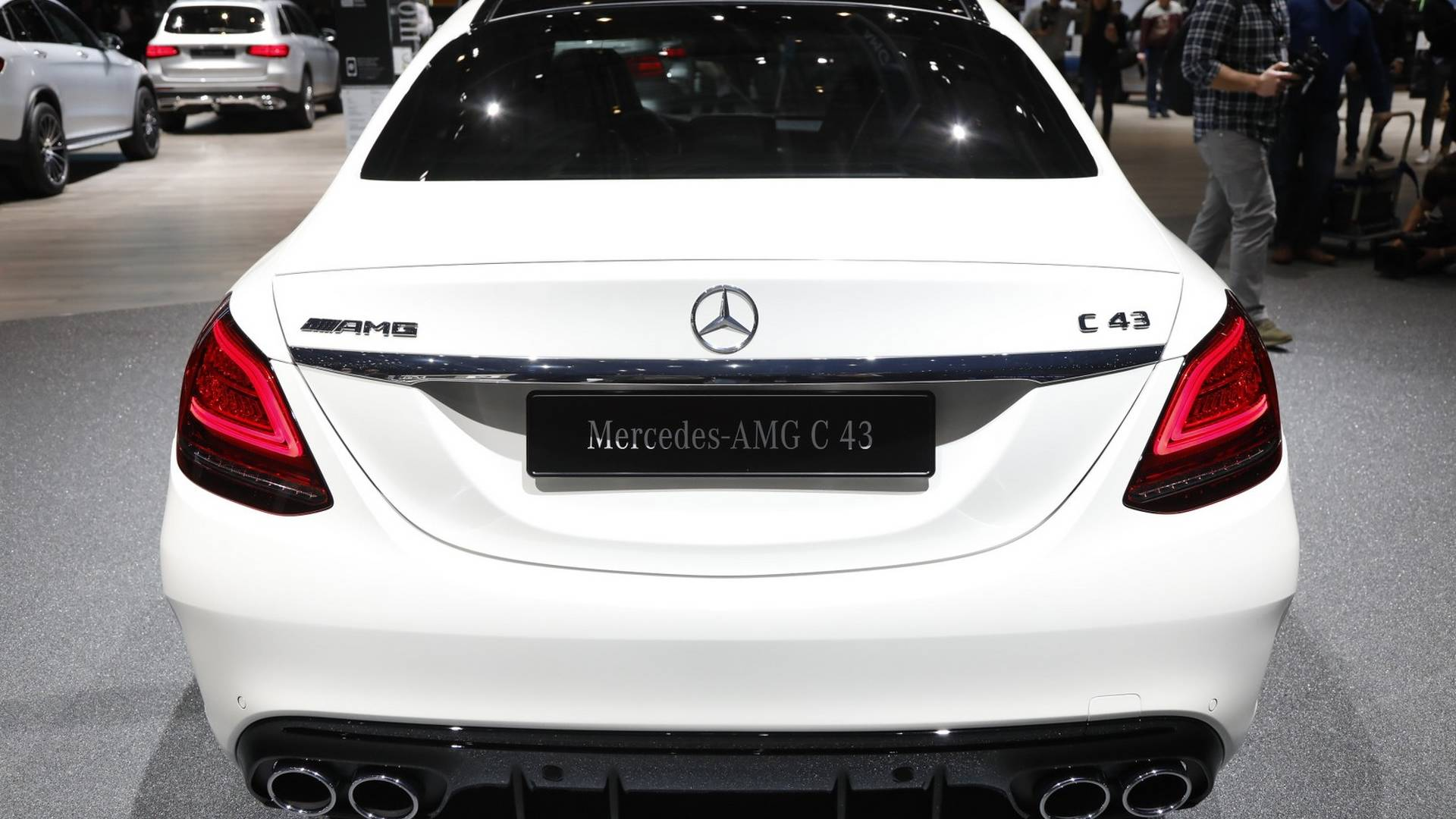 Mercedes-AMG C43 Live From Geneva Motor Show